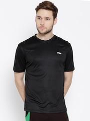 FILA Black DECIUS T-shirt