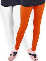 Lux Lyra SILK Pack of 2 Churidar Leggings