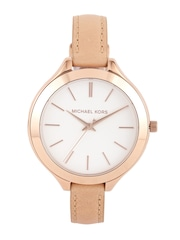 Michael Kors Women Silver-Toned Dial Watch MK2284I