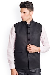 Wintage Black Nehru Jacket
