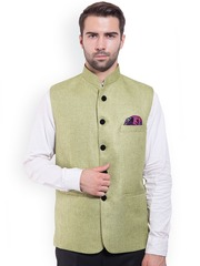 Wintage Green Nehru Jacket