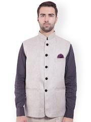 Wintage Beige Nehru Jacket