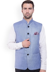 Wintage Blue Nehru Jacket