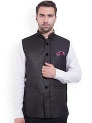 Wintage Black Nehru Jacket