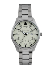 GIORDANO Men Cream-Coloured Dial Watch 1771-44