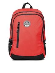 Gear Unisex Red & Black Eco 4 Waterproof Backpack