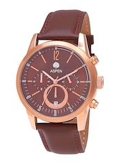 ASPEN Men Brown Dial Watch AM0071