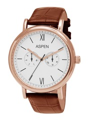 ASPEN Men White Dial Watch AM0076