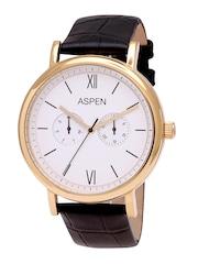 ASPEN Men White Dial Watch AM0077