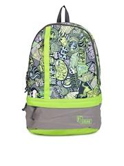 F Gear Unisex Green Printed Burner P2 Backpack