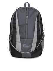 F Gear Unisex Black & Grey Flame V2 Backpack
