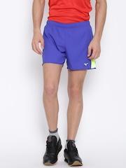 Mizuno Blue Premium Aero Square 4.5 Shorts