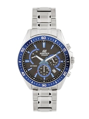 CASIO Edifice Men Chronograph Black Dial Watch EX275