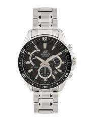 CASIO Edifice Men Chronograph Black Dial Watch EX276
