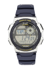 CASIO Youth Series Men Navy Digital Watch D118