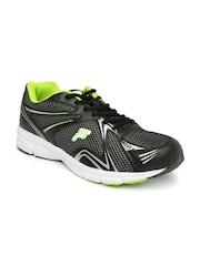 FILA Men Grey & Black Jump Lite Running Shoes