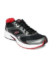 FILA Men Black & Grey Xtent 4 Running Shoes
