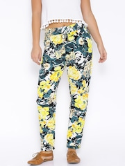 ONLY Multicoloured Abstract Print Trousers
