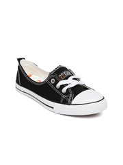 Kook N Keech Women Black Casual Shoes