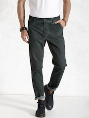 RDSTR Charcoal Grey Washed Trousers