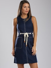 Tommy Hilfiger Navy A-line Dress