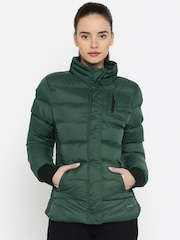 HARVARD Green Puffer Jacket