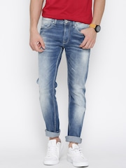 Pepe Jeans Blue Washed Hatch Fit Jeans