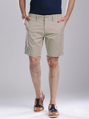 Tommy Hilfiger Beige Slim Shorts