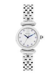 SEIKO Women Off-White Dial Watch SRZ399P1