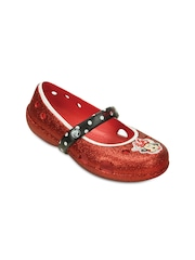Crocs Girls Red Clogs