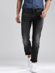 Levis Black Skinny Straight Fit 65504 Jeans