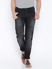 John Players Black Slim Fit Jeans
