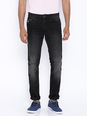 John Players Jeans Black Skinny Fit Jeans