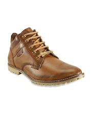 bacca bucci Men Tan Brown Casual Shoes