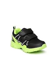 Kittens Boys Black Sports Shoes
