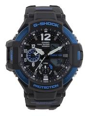 CASIO G-Shock Chronograph Men Black Analogue & Digital Watch G639