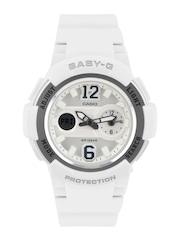 CASIO Baby-G Women White Analogue & Digital Watch BX052