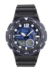CASIO Youth Series Men Blue Analogue & Digital Watch AD205