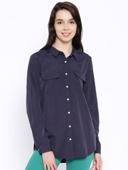 United Colors of Benetton Navy Casual Shirt