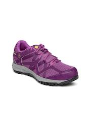 Columbia Women Purple Conspiracy Switchback II Omni-Tech Running Shoes