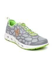Columbia Men Grey Megavent Hiking Shoes