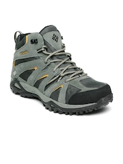 Columbia Men Grey GRAND CANYON MID OUTDRY Trekking Shoes