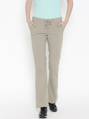 Columbia Taupe Anytime Outdoor Bootcut Track Pants