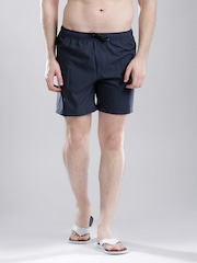 Quiksilver Navy Surfing Shorts with Printed Detail