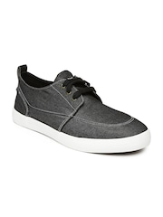 Roadster Men Black Denim Casual Shoes