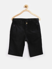United Colors of Benetton Boys Black Shorts