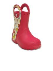 Crocs Boys Magenta Boots