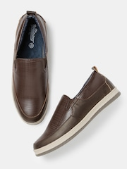 Roadster Men Dark Brown Loafers