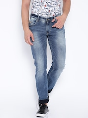 SPYKAR Blue Low-Rise Skinny Fit Jeans