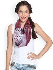 J Style Multicoloured Printed Stole